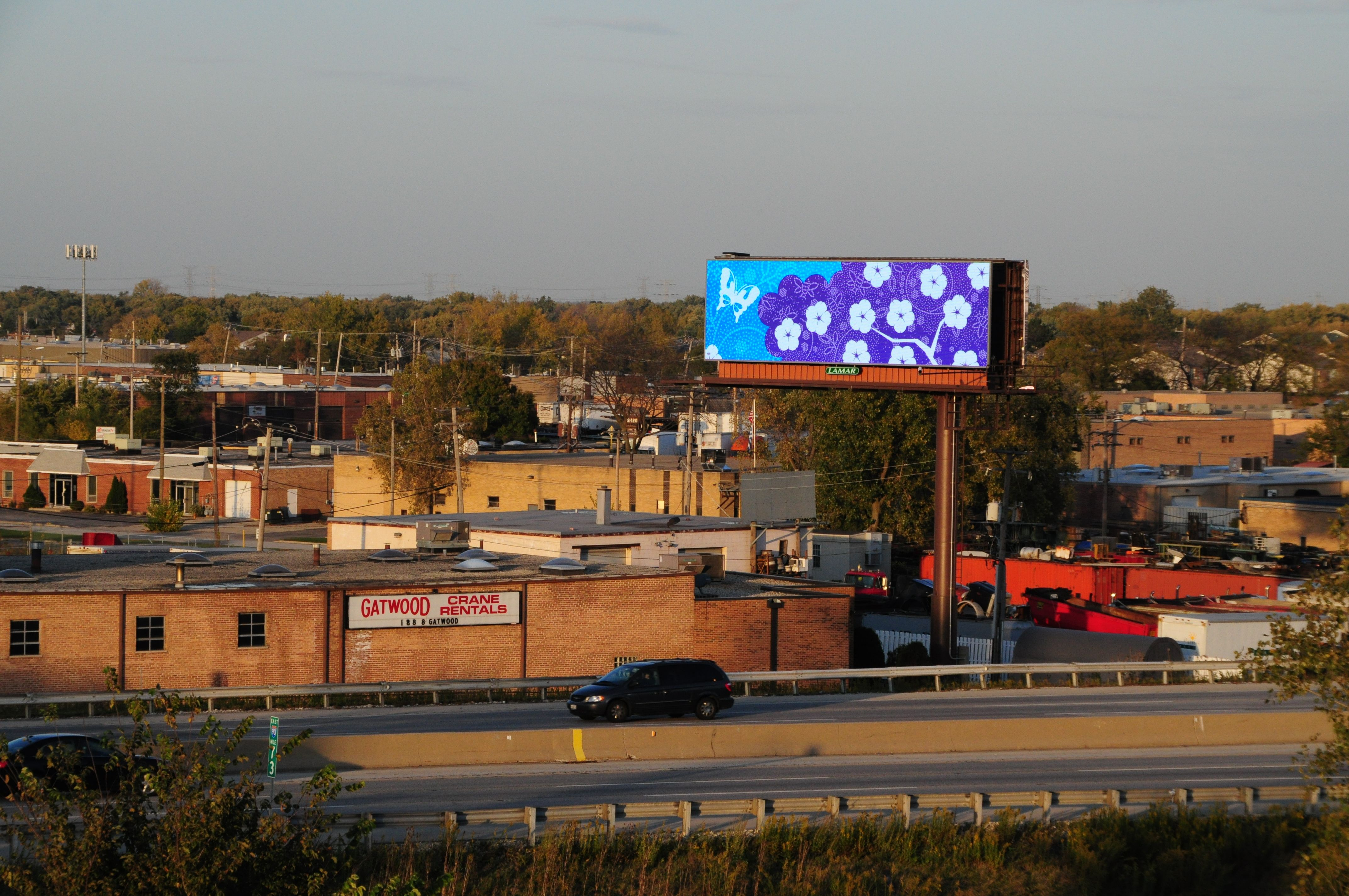 Lisa Graham billboard art