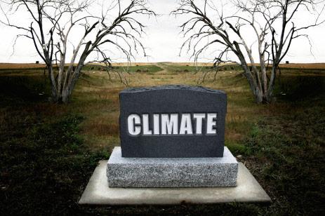 Climate gravestone
