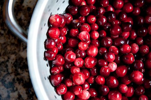 Cranberries.