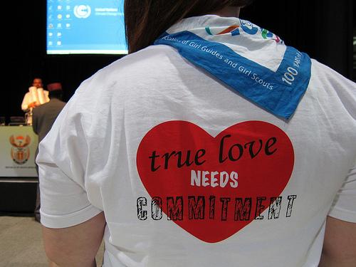 True love needs commitment