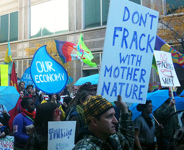 don't frack with mother nature