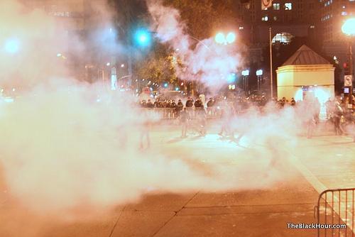 Oakland tear gas