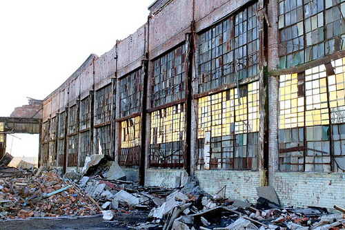 Packard plant ruins Detroit