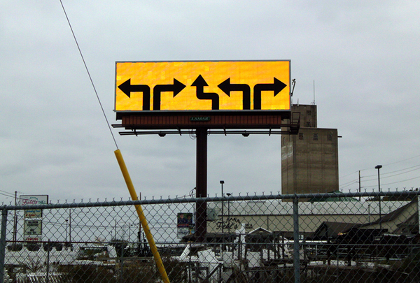 Reading Billboard