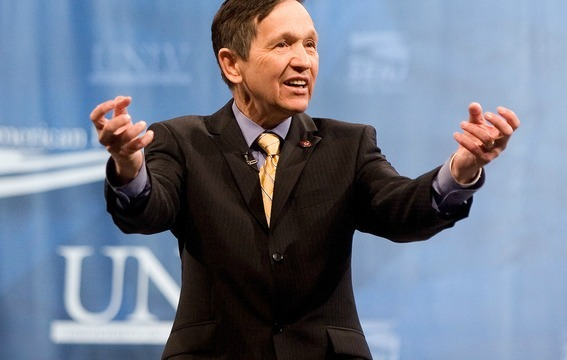 Dennis Kucinich is on his way out. (Photo by Center for American Progress Action Fund)