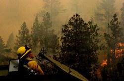 Colorado on fire in 2012