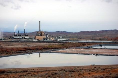 The Reid Gardner coal-fired power plant