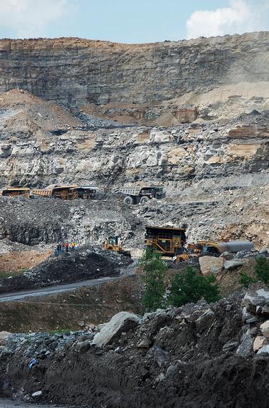 WV coal protest: mine