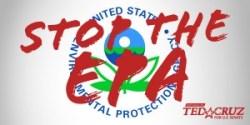"""stop the EPA"" graphic from Cruz website"