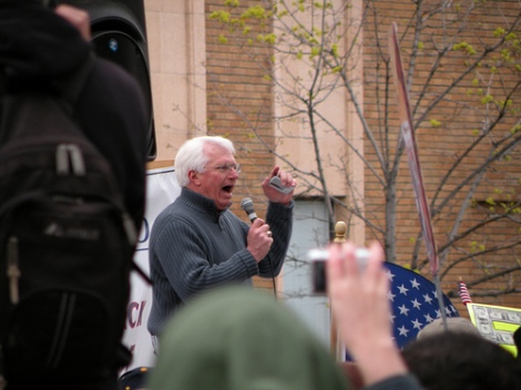 Bryan Fischer, ranting about something