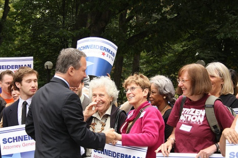 Schneiderman, during his campaign for attorney general