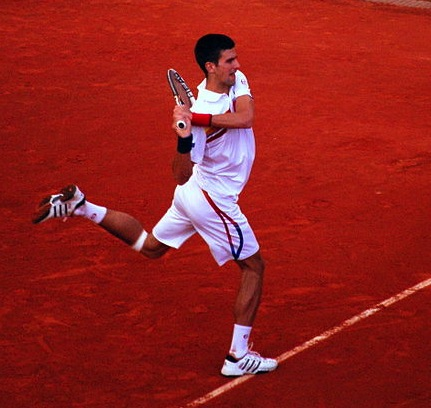 This just felt like the most appropriate photo of Djokovic to use, somehow.