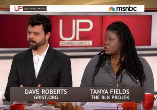 David Roberts on MSNBC