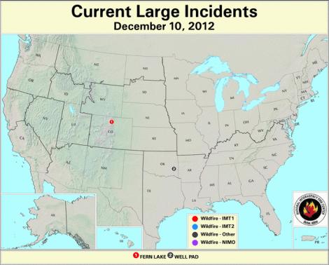 current fire map dec 2012