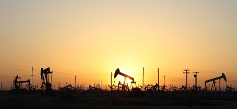 Oil pumps off of Highway 5