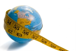 earth measuring tape