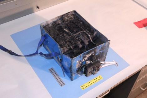 787 battery fire