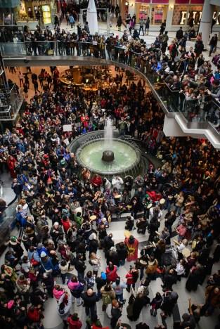 A December 30, 2012 round dance in Toronto.