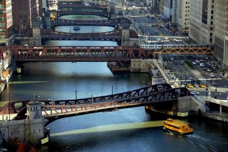 The beautiful, non-potable Chicago River