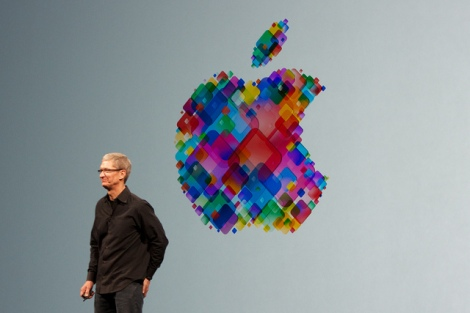 Tim Cook, speaking last June