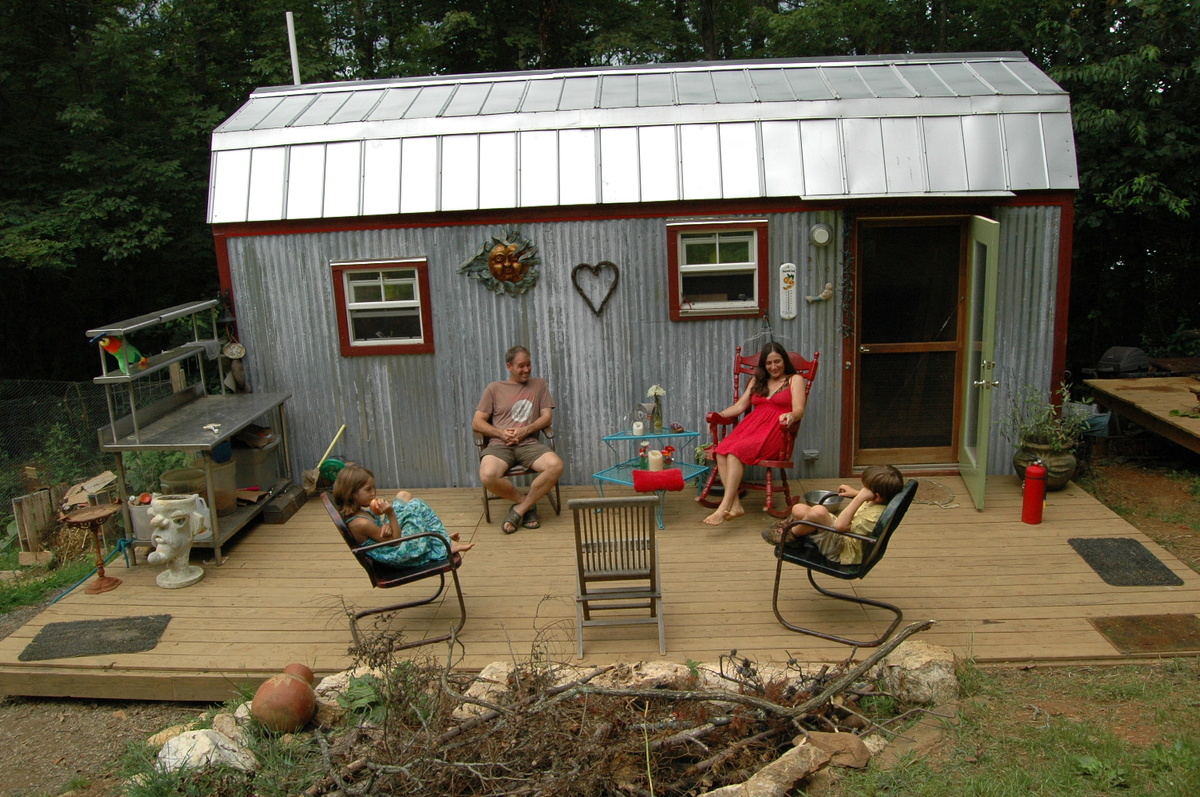 Playing house: Making tiny-home living work with kids  Grist