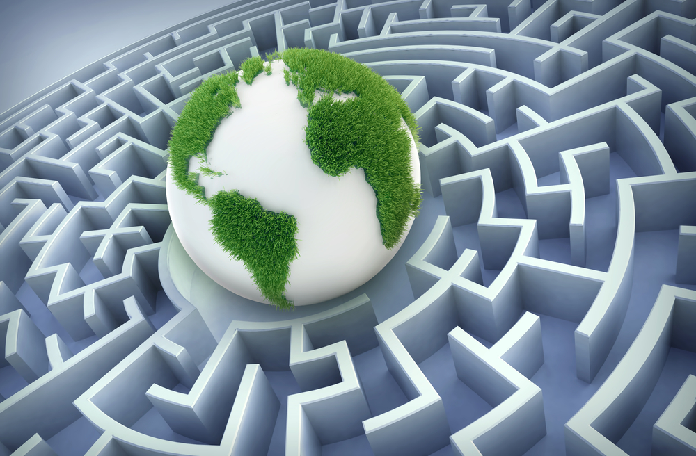 earth in a maze