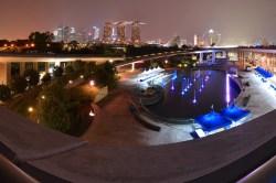 Singapore's Marina Barrage.