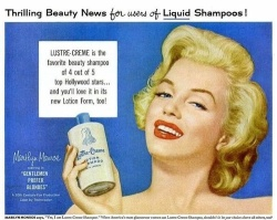 Now these folks knew how to sell some shampoo. Click to embiggen.