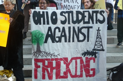 ohio fracking protest