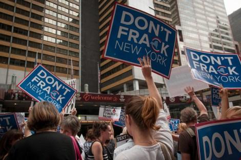 Protestors target New York Gov. Andrew Cuomo
