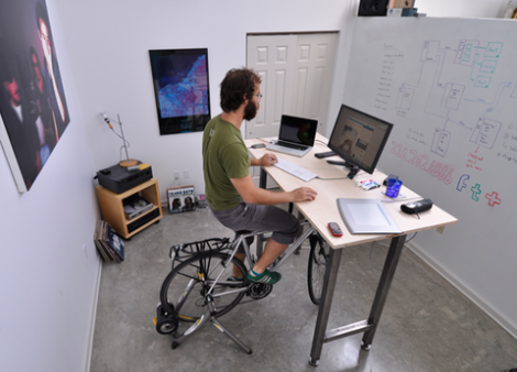 bike desk