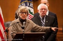 Barbara Boxer and Bernie Sanders