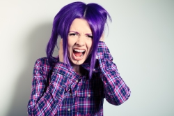It's natural ... to freak out about hair dye.