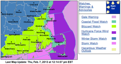snow forecast boston nemo