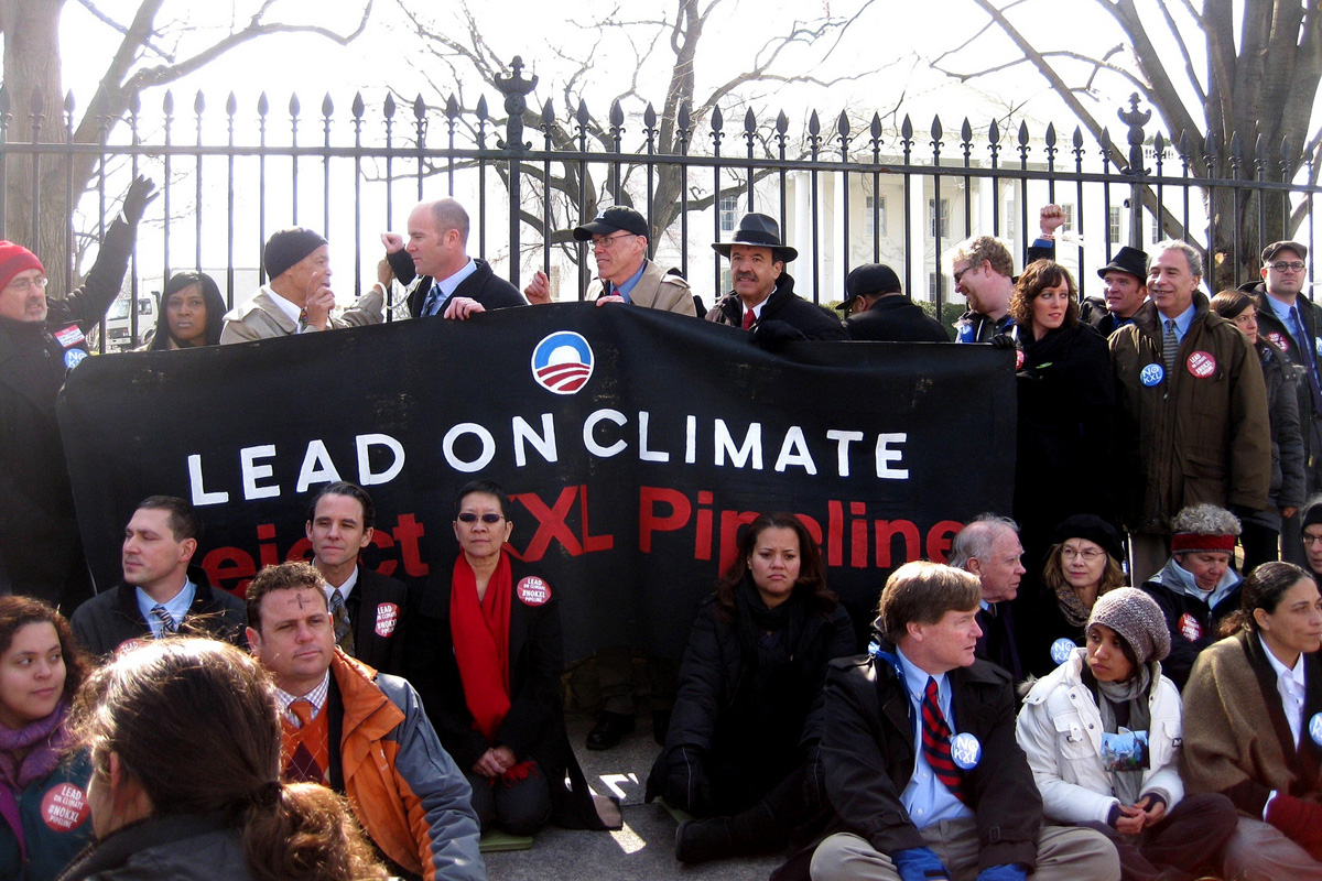 Sierra Club Keystone protest