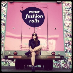 """Christina launched San Francisco's first """"fashion truck"""" with help from a loan from the Mission Asset Fund."""