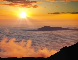 NOAA's carbon dioxide measurements are taken at Mauna Loa, Hawaii