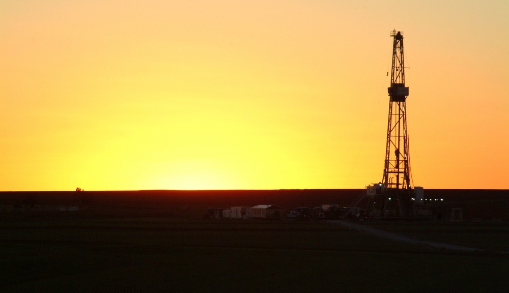 oil drill in Oklahoma