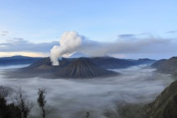 Smoke from volcanoes helps cool the planet