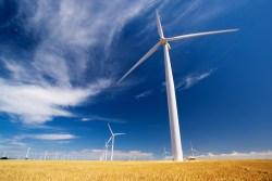 A windfarm in South Australia