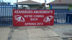 The first place I visited in Keansburg showed signs of hope.