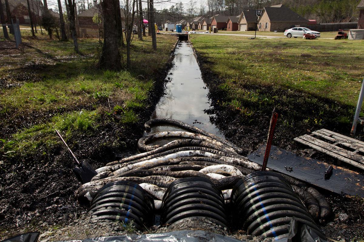 tar-sands spill in Arkansas