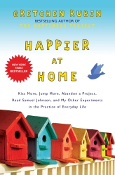 Happier At Home is Rubin's second book.