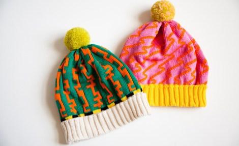 Hats by All Knitwear.