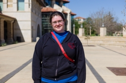 """Kelly, 20, of Lubbock, Texas, says her biggest concern is money. """"My parents have next to nothing so I am constantly worried about what I can do to have enough to buy food alone."""""""