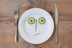 vegetable face plate