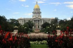 Colorado's capitol building in Denver.