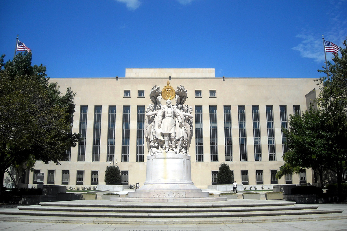the E. Barrett Prettyman Federal Courthouse in Washington, D.C.