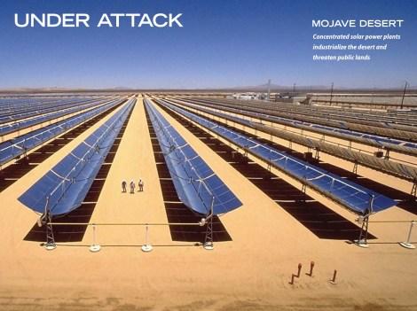 big solar project in Mojave Desert