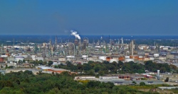 ExxonMobil's accident prone complex in Baton Rouge.